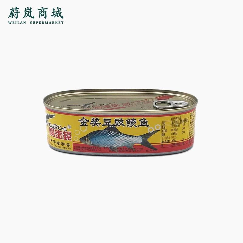 鹰金钱 金奖豆豉鲮鱼